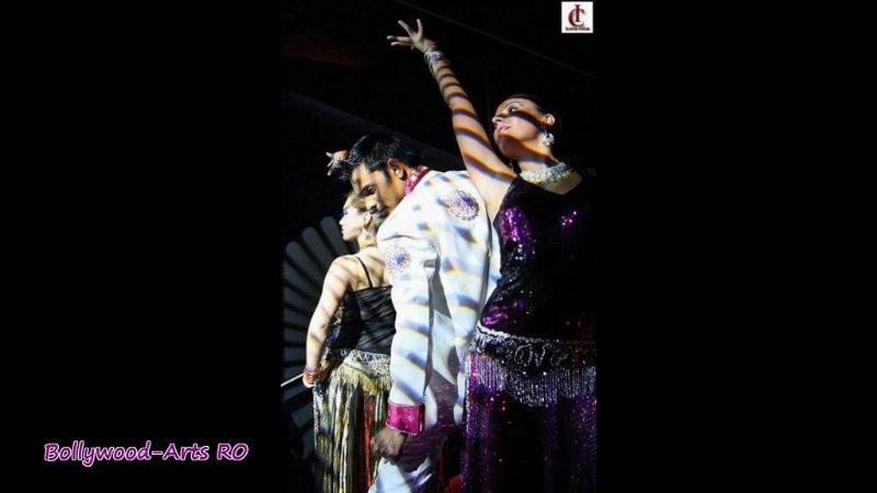 Bollywood Tanzgruppe