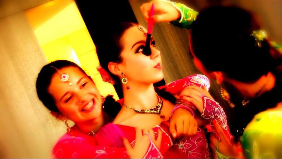 Bollywood Schminken
